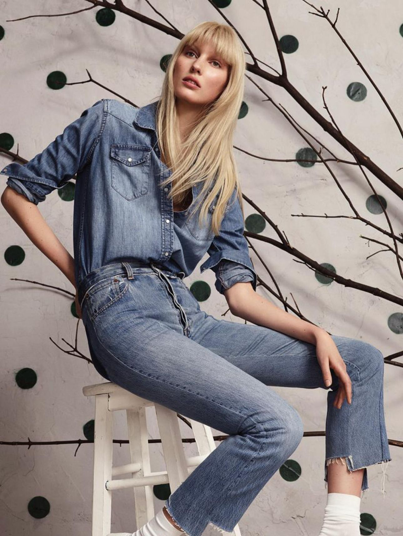 The new way to wear denim with Veroniek Gielkens