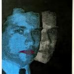 Adam Koukoudakis, Pops, Acrylic on Canvas