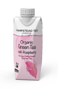 Anyone fancy a cuppa of Hampton's Organic Iced Tea?