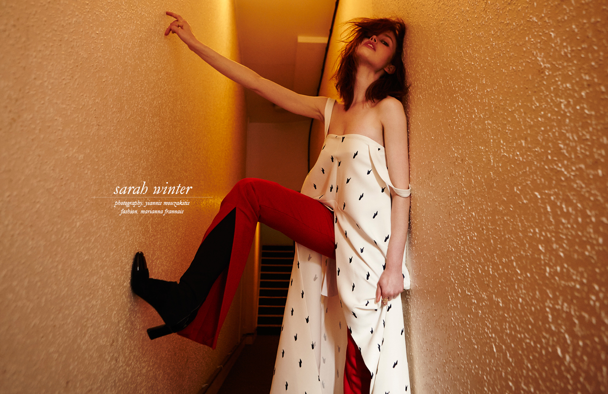 My Sarah Winter interview for Schon! Magazine
